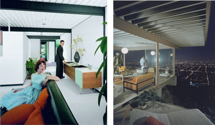 Case Study House #22, Los Angeles 1960  Architecte : Pierre Koenig Crédit : Julius Shulman