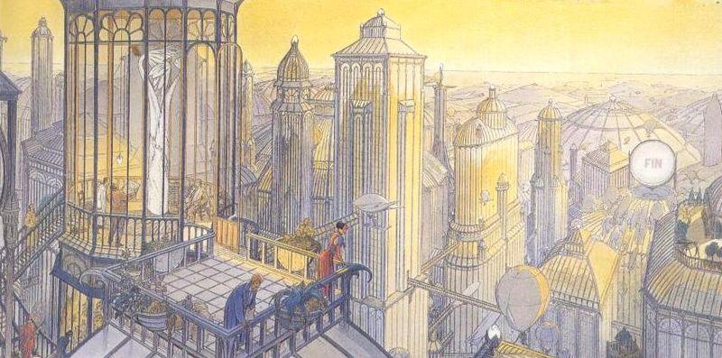 """Illustration pour l'article """"Faut-il rêver pour être architecte?"""" sur le Site et Cité Atelier d'écriture pour jeunes architectes"""