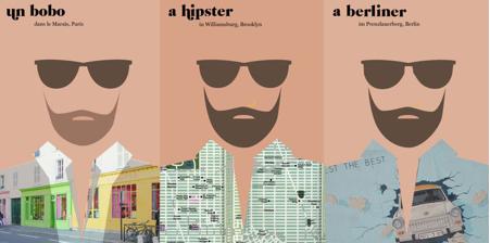 Illustration pour l'article Barbès ou le marketing territorial. Génération hipster