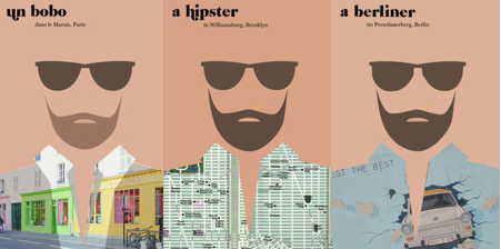 Illustration pour l'article Barbès ou le marketing territorial. Génération hipster