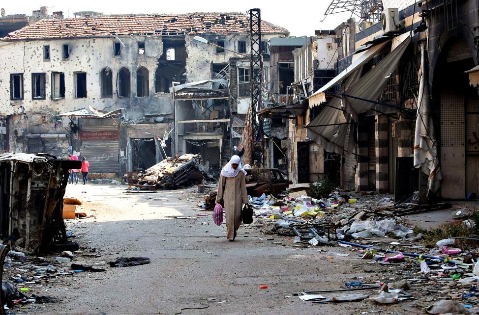 Site et Cité Urbicide saccage de la ville ennemie