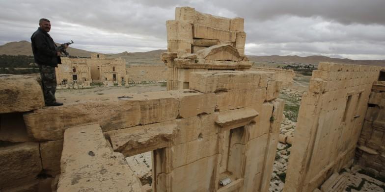 Palmyre Patrimoine en péril sur Site et Cité