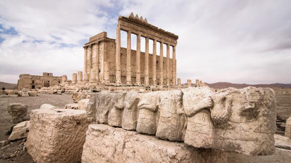 Palmyre Patrimoine en péril sur Site et Cité Temple de Bêl menacé par etat islamique