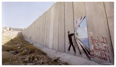 Faites le mur, Banksy