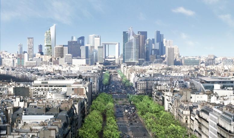 Site et Cite Tour d'horizon des tours françaises la Defense