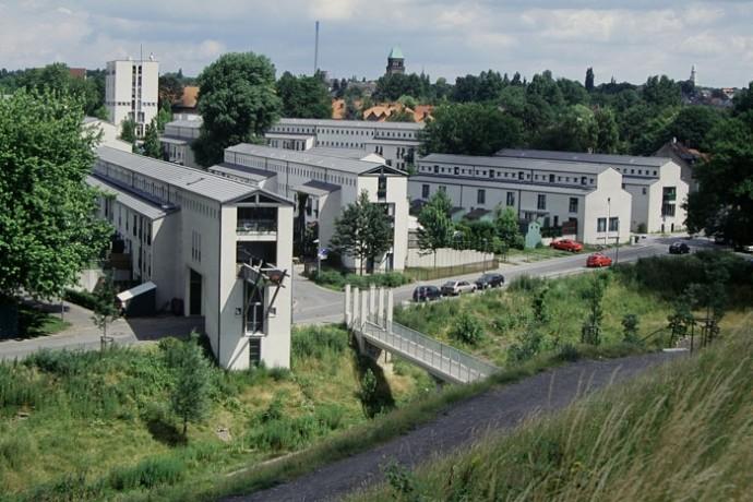 Emscher Park, laboratoire urbain dans la Ruhr en Allemagne, vaste projet de réhabilitation et de préservation du patrimoine industriel à l'échelle de la vallée du Rhin