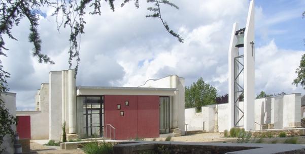 Nouvelle église de Saint-Aubin-du-Pavoil (Segré dans le 49)