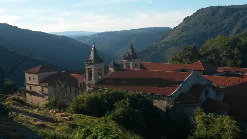 Vue générale sur le monastère