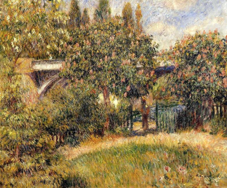 le-pont-du-chemin-de-fer-a-chatou-renoir-1881-huile-sur-toile