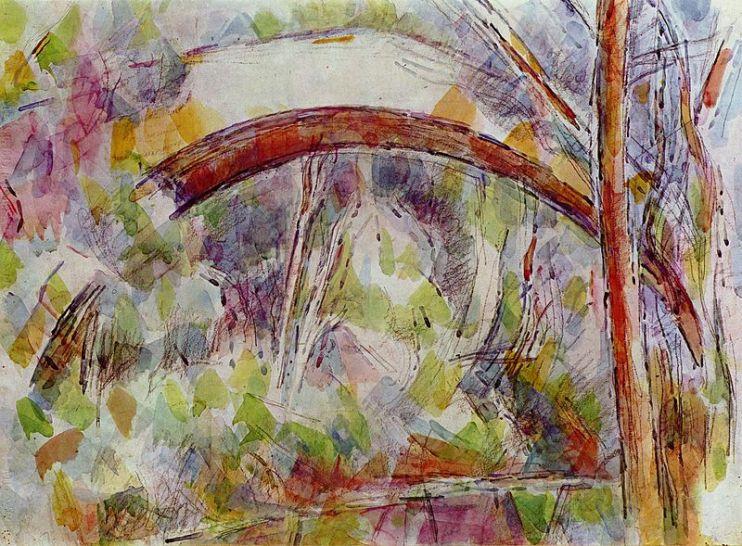 paul-cezanne-1906-riviere-pres-du-pont-des-trois-sources-aquarelle