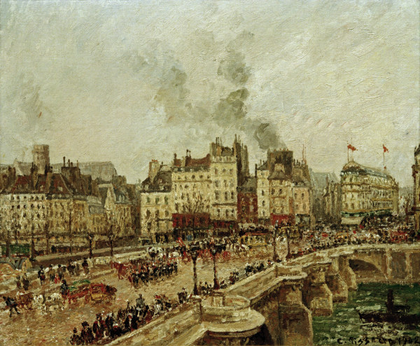 C.Pissarro, Le Pont Neuf - -