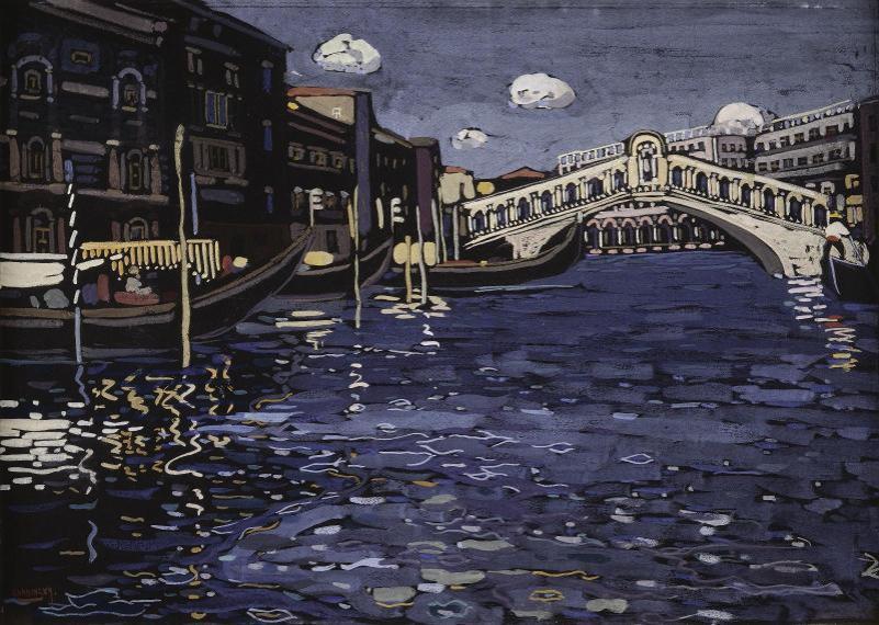 vassily-kandinsky-errinnerung-an-venedig-4-ponte-rialto-1904