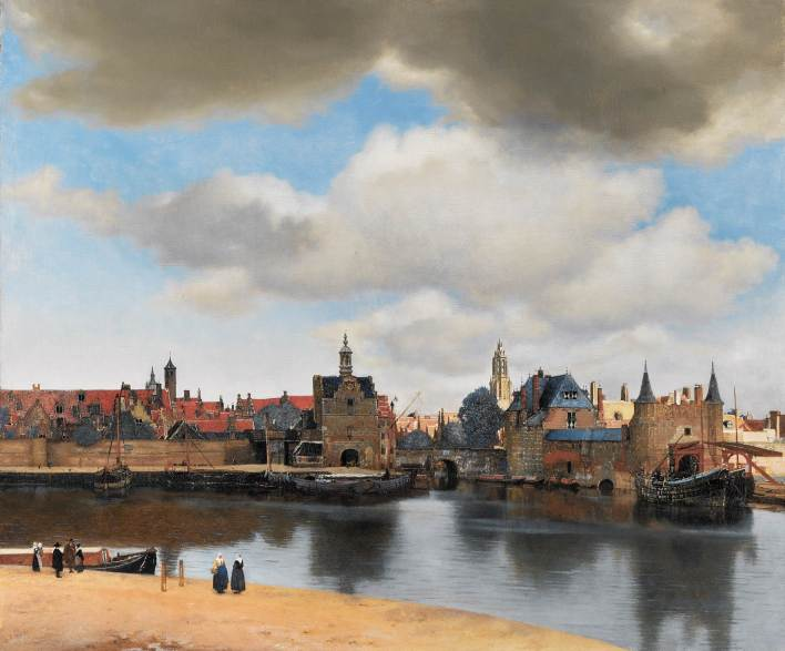 vermeer-view-of-delft-1661-huile-sur-toile