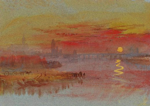 william-turner-coucher-soleil-ecarlate-1830-aquarelle